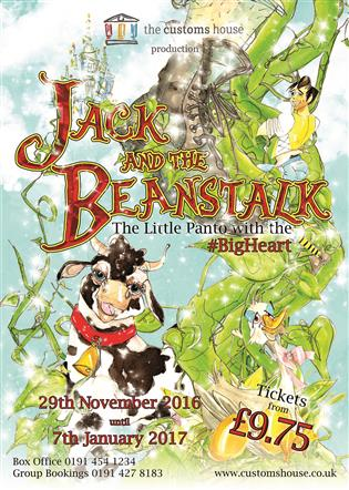 Jack And The Beanstalk Pantomime 2016 The Customs House Mill Dam South Shields NE33 1ES