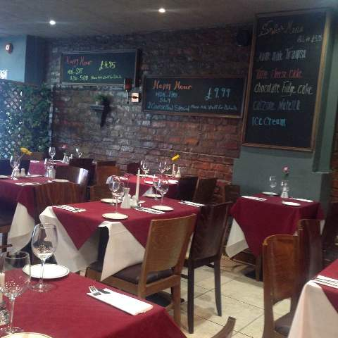 Bell Passi Italian Kitchen 70 Ocean Road South Shields NE33 2JD Interior