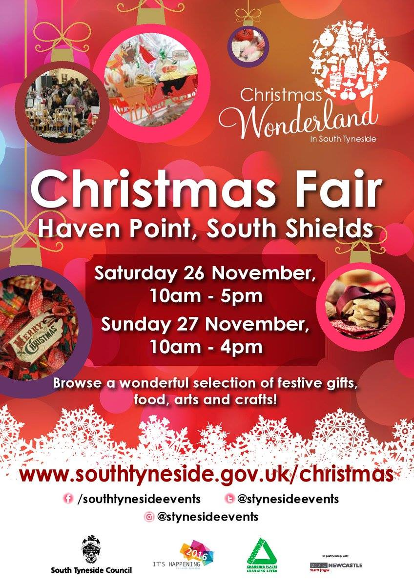 Christmas Fair At Haven Point Pier Parade South Shields NE33 2JS