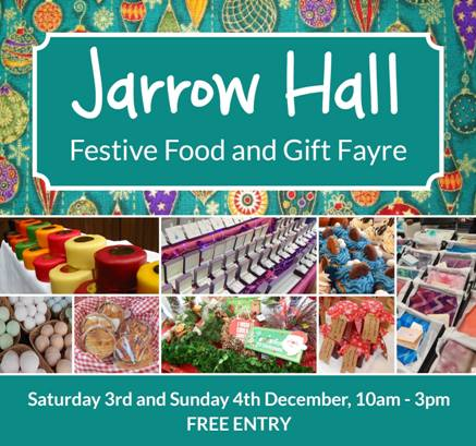 Jarrow Hall Festive Food And Gift Fayre