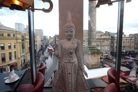 Chaophraya Thai Restaurant Eldon Square Newcastle upon Tyne NE1 7AP Interior 1