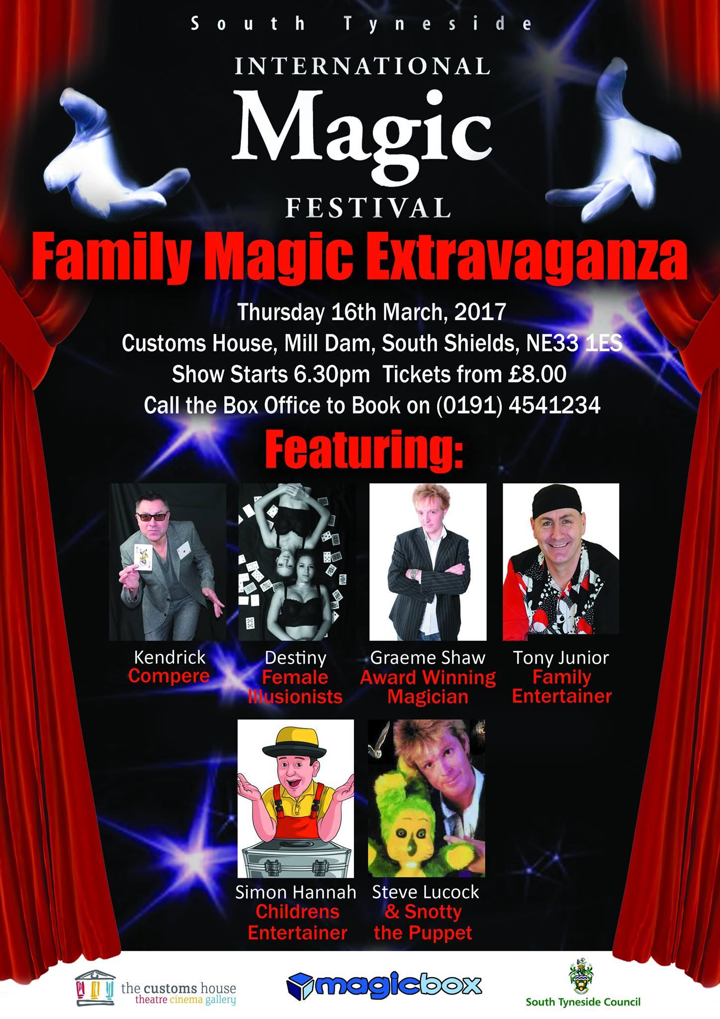South Tyneside Magic Festival 2017 Family Show