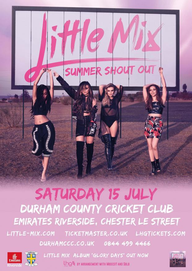 Little Mix At Durham County Cricket Club Emirates Riverside Stadium DH3 3QR