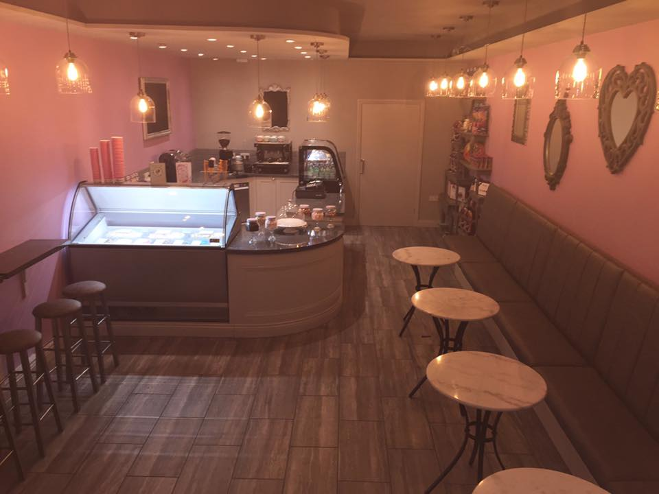 Ghiaccio Ice Cream Parlour & Dessert Lounge 181b Sunderland Road Harton Village South Shields NE34 6AD Interior