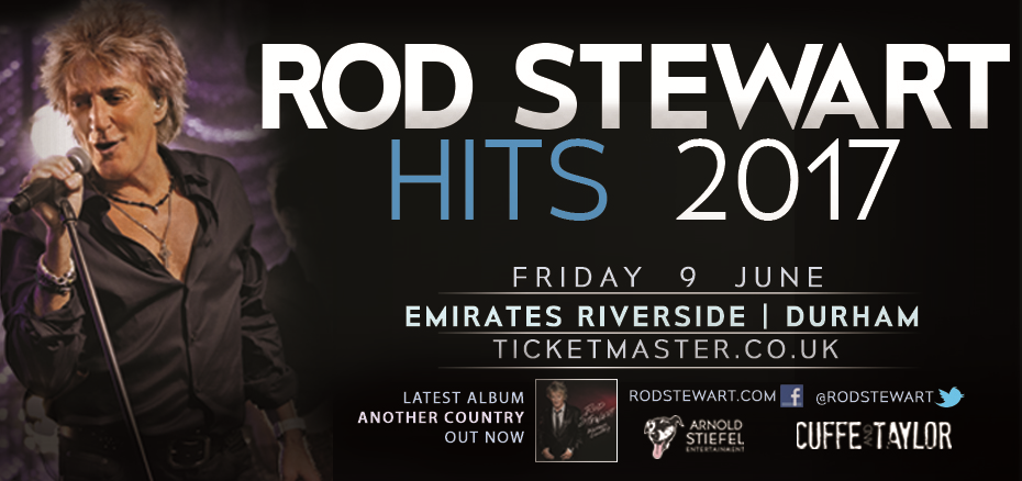 Rod Stewart At Durham County Cricket Club Emirates Riverside Stadium DH3 3QR