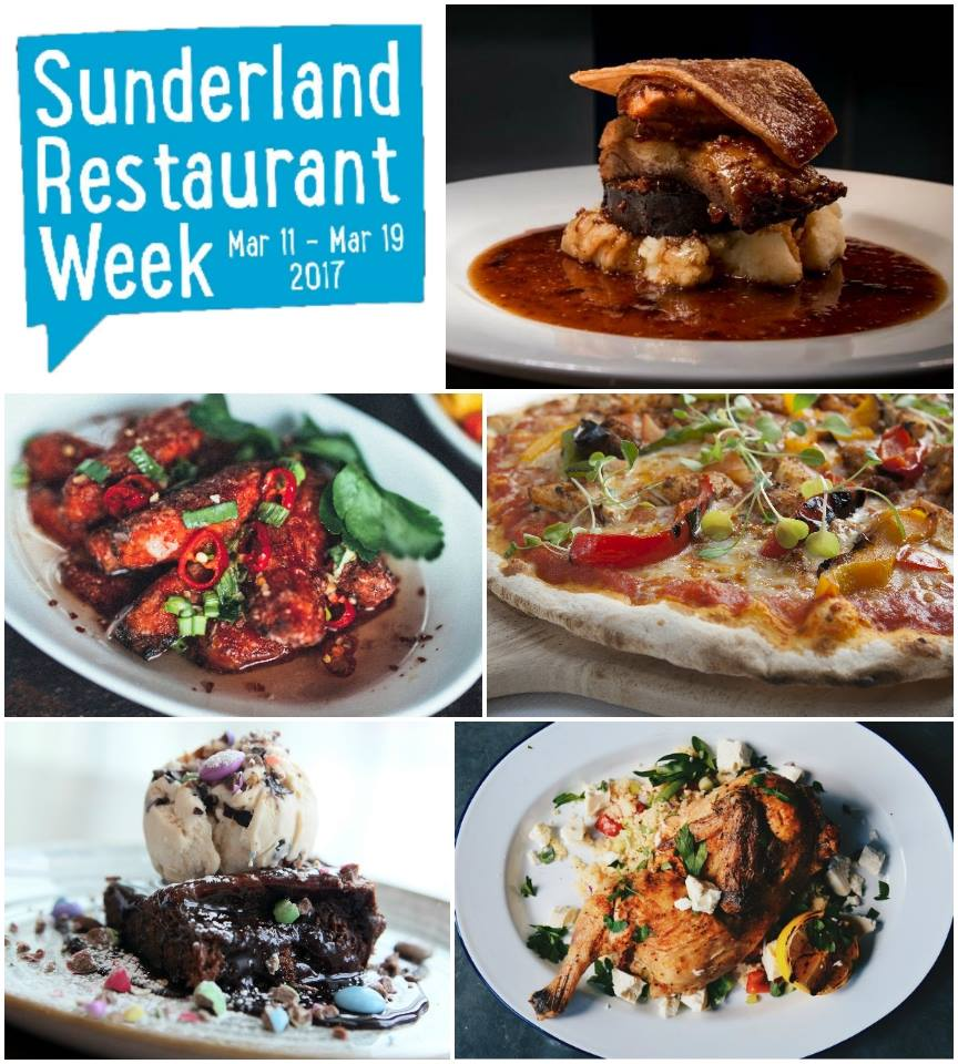 Sunderland Restaurant Week 2017