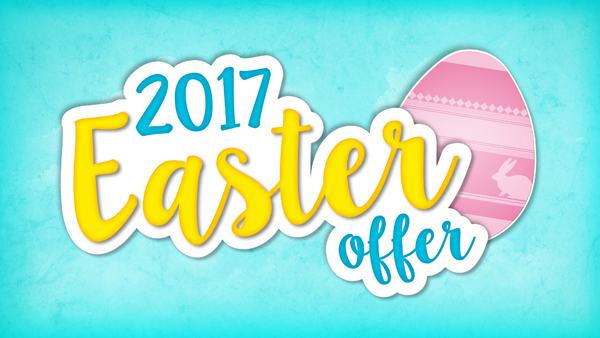 Easter 2017 Special Offer Discount Code
