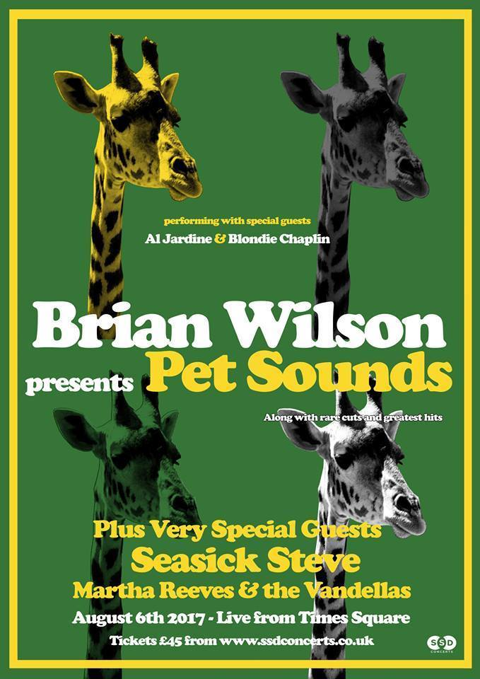 Brian Wilson Pet Sounds Live From Times Square Newcastle upon Tyne NE1 4EP