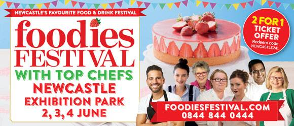 Newcastle Foodies Festival Exhibition Park Newcastle upon Tyne NE2 4PZ