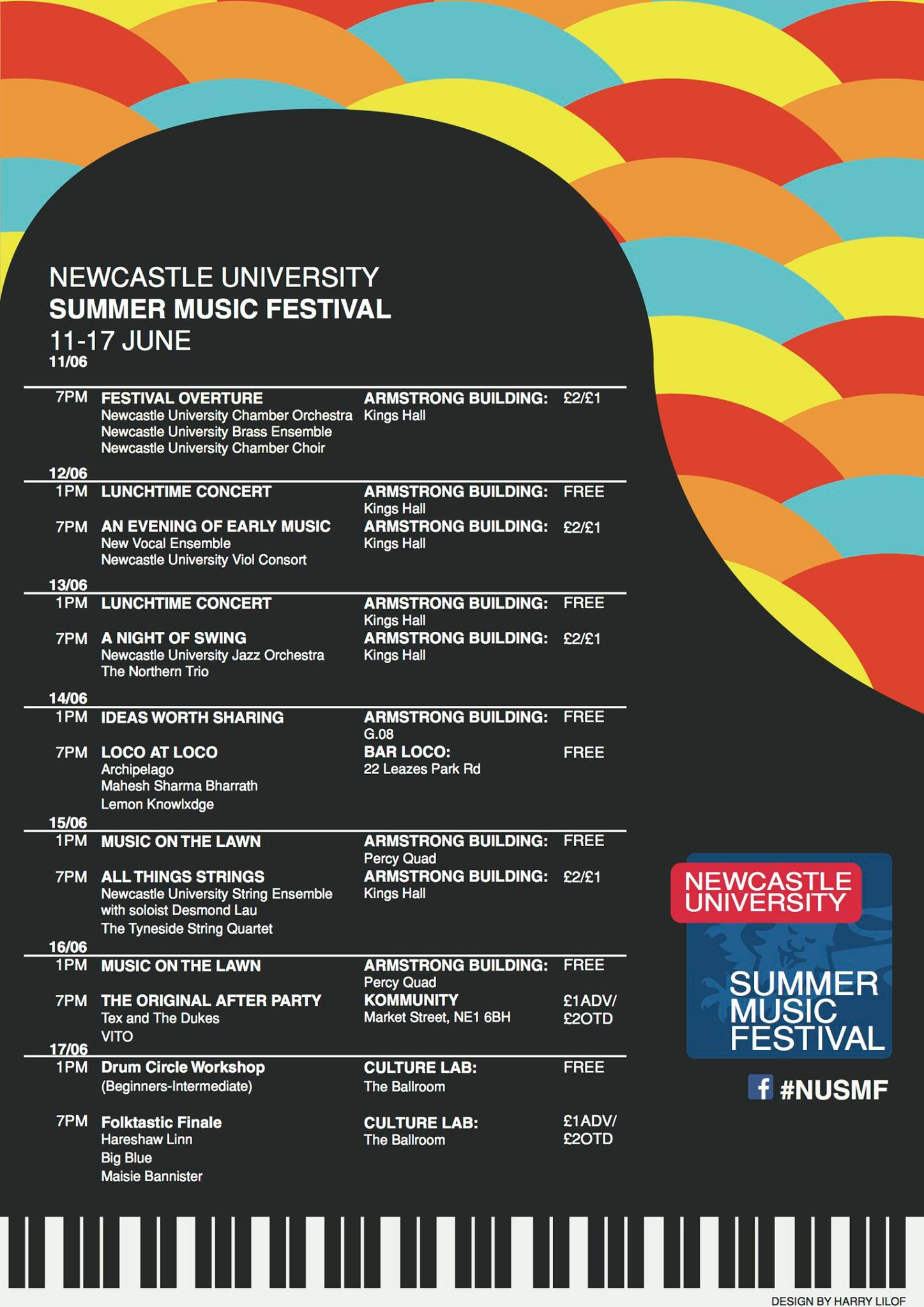 Newcastle University Summer Music Festival 2017