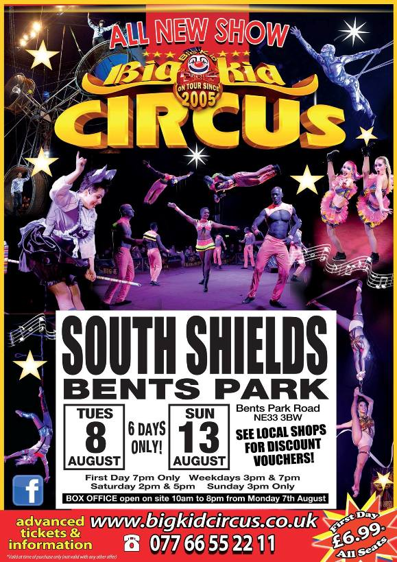 Big Kid Circus Bents Park In South Shields