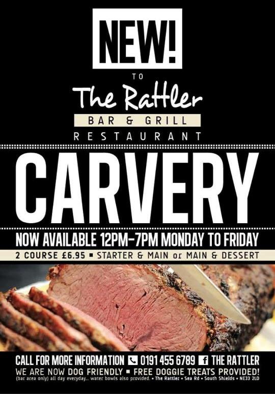 The Rattler Sea Road South Shields Carvery