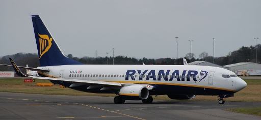 Ryanair Newcastle International Airport NCL