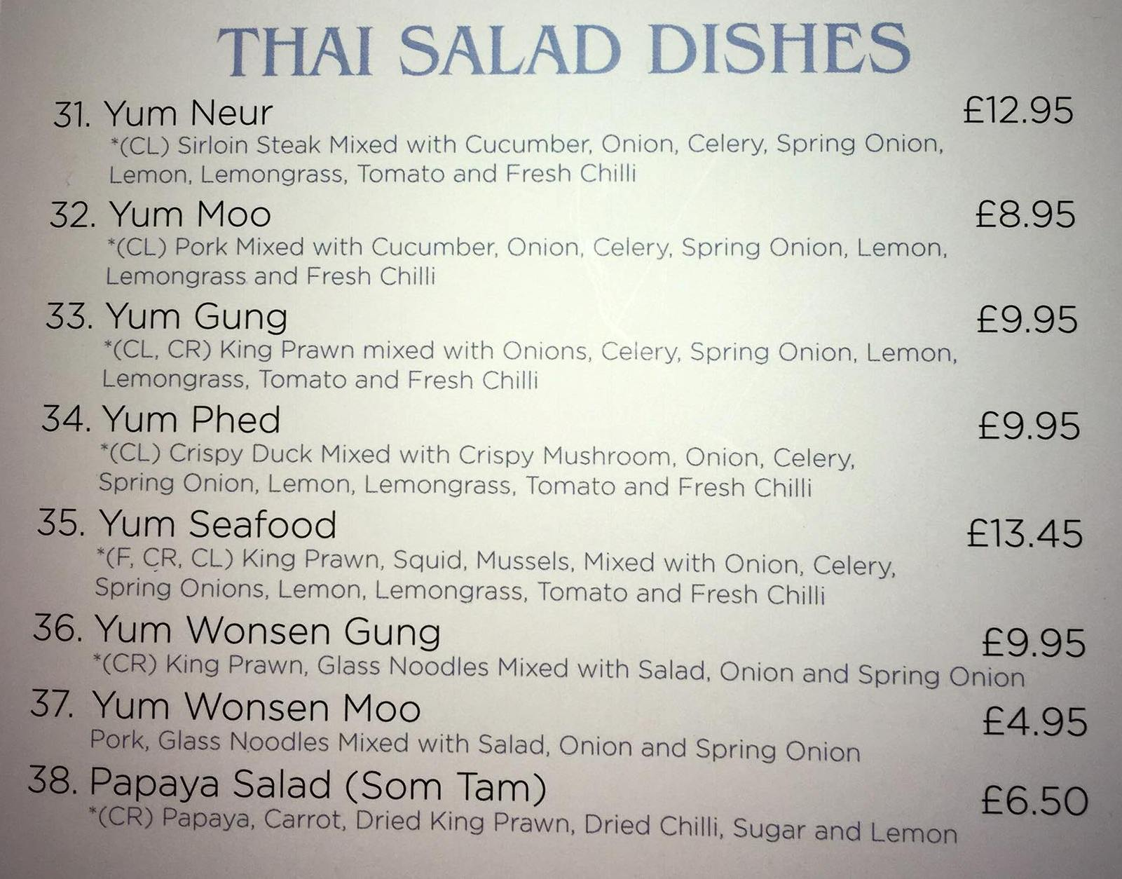 Thai Udon Kitchen 18 Frederick Street South Shields NE33 5EA Menu 3