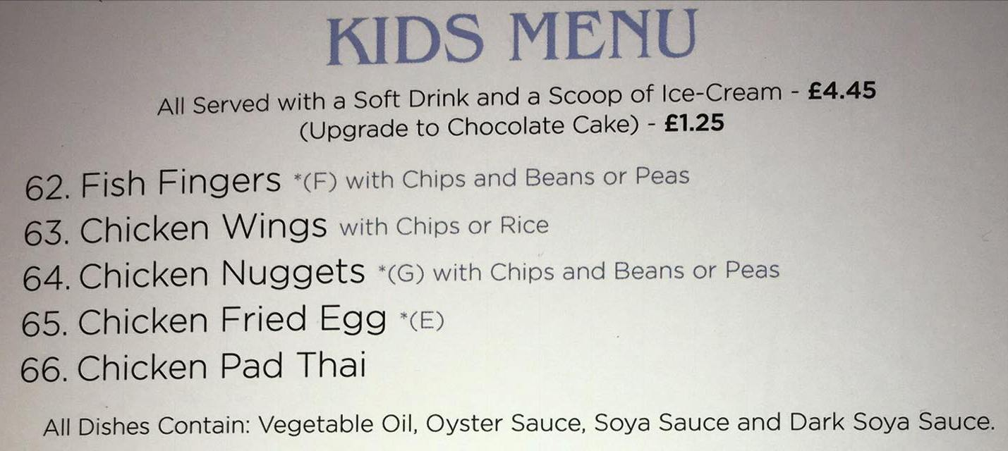 Thai Udon Kitchen 18 Frederick Street South Shields NE33 5EA Menu 5