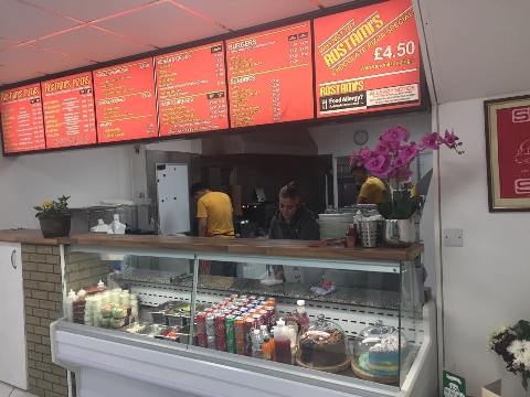 Rostami's Takeaway Ocean Road South Shields NE33 2JF Interior