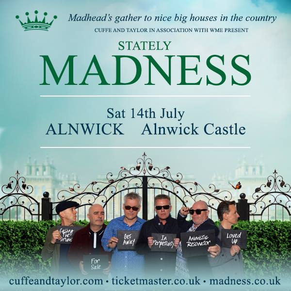 Madness Live At Alnwick Castle In Northumberland