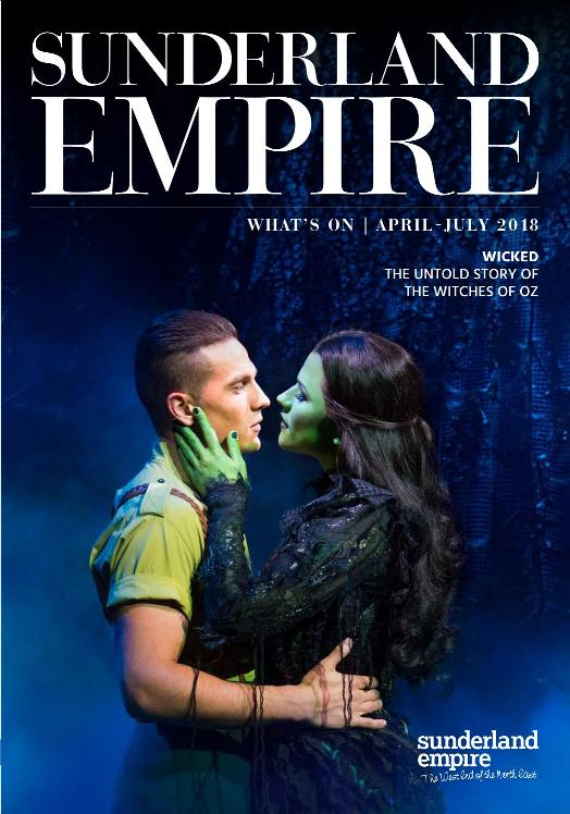 Sunderland Empire Theatre What's On April July 2018 Cover