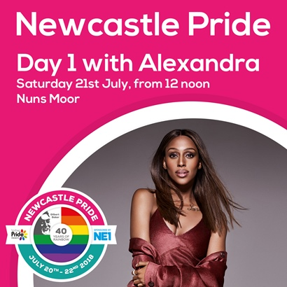Newcastle Pride Day 1 July 2018