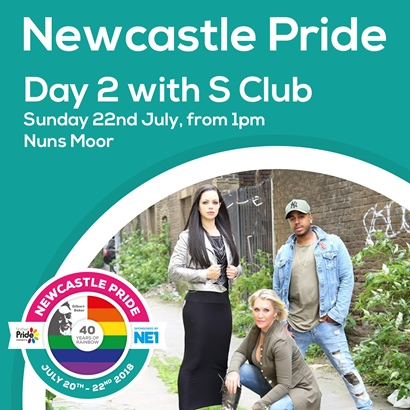 Newcastle Pride Day 2 July 2018