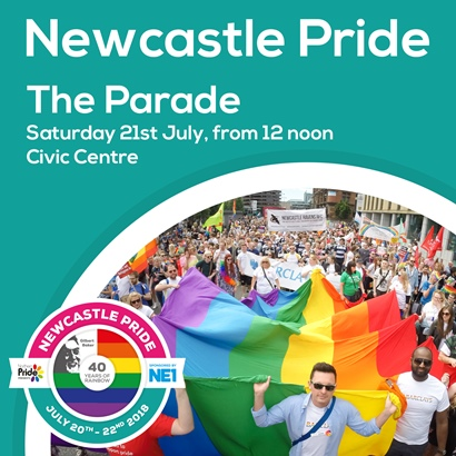 Newcastle Pride Parade July 2018