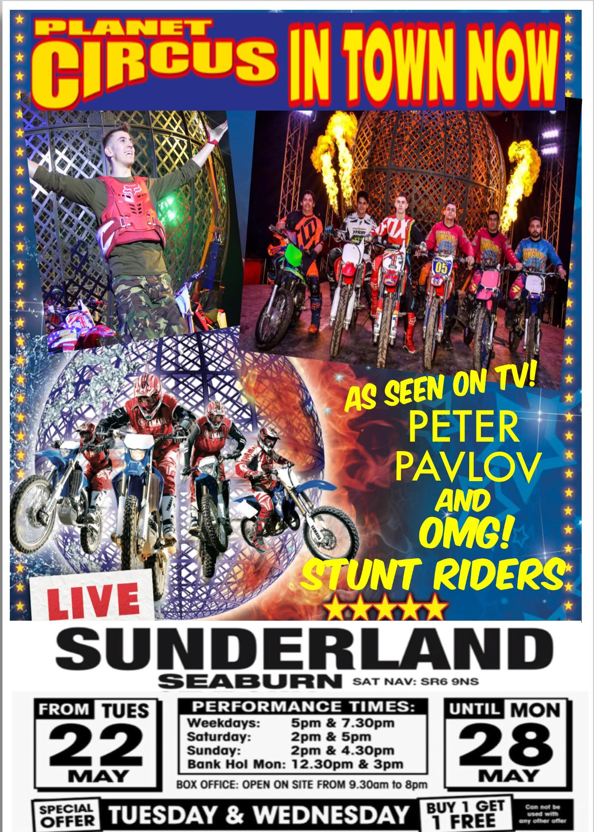 Planet Circus Seaburn Recreation Park Sunderland SR6