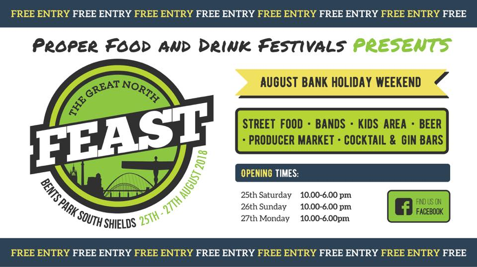 Great North Feast 2018 Bents Park South Shields NE33 2LD
