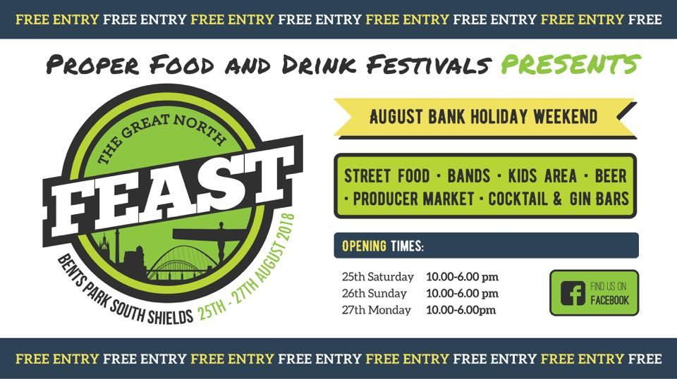 Bents Park South Shields Food Festival