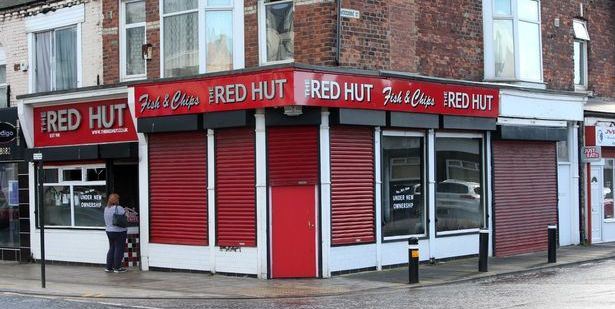 The Red Hut 102 Ocean Road South Shields NE33 2JF Exterior