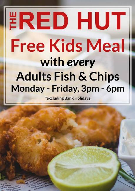 The Red Hut 102 Ocean Road South Shields NE33 2JF Special Offer