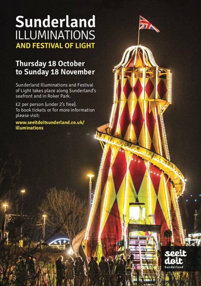Sunderland Illuminations 2018 Flyer
