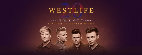 Westlife At Metro Radio Arena Newcastle NE4 7NA