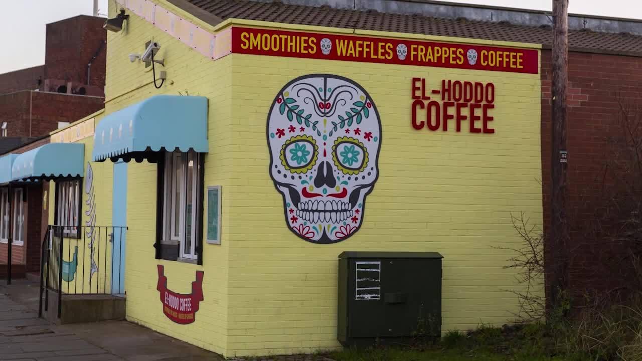 El-Hoddo Coffee Sea Road South Shields NE33 2LD Exterior