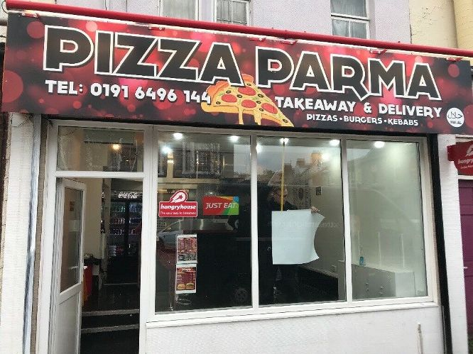Pizza Parma 188 Ocean Road South Shields NE33 2JQ Exterior