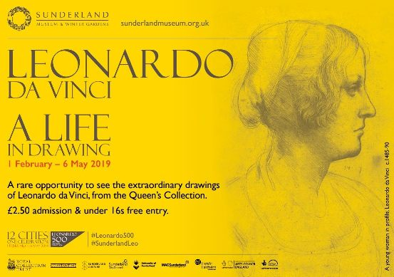Leonardo da Vinci A Life In Drawing Sunderland Museum And Winter Gardens