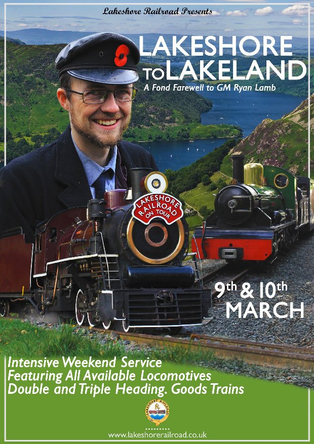 Lakeshore Railroad South Marine Park South Shields Event Weekend