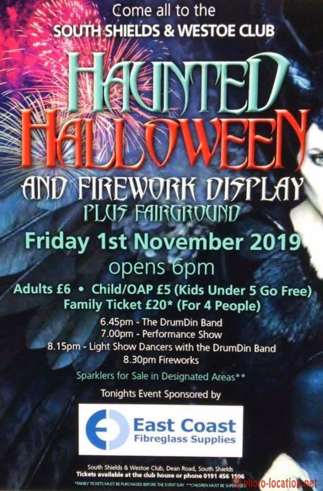 South Shields and Westoe Club Firework Display 2019