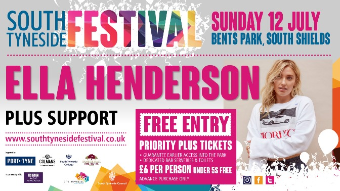 South Tyneside Festival 12th July 2020 Ella Henderson