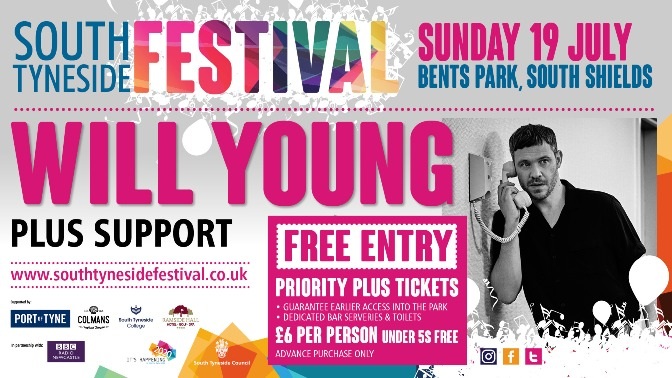South Tyneside Festival 19th July 2020 Will Young