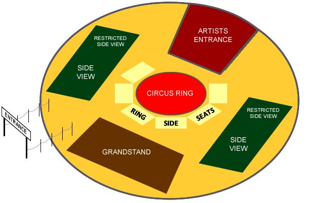 Cirque De Cuba Wheathall Farm Whitburn SR6 7EU Seating Map
