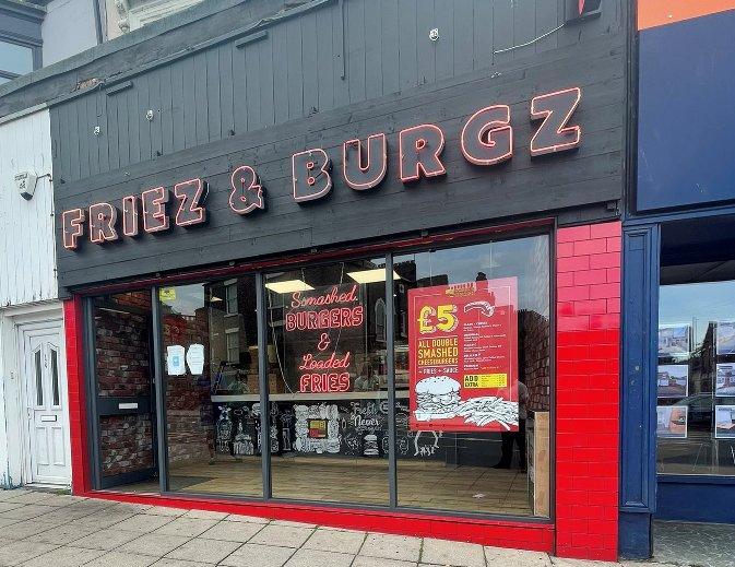 Friez and Burgz 124 Fowler Street South Shields NE33 1PZ Exterior