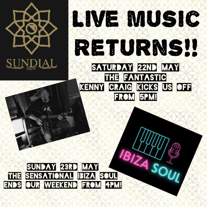 Live Music At The New Sundial Pub In South Shields May 2021