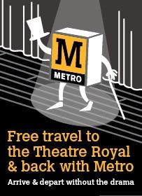 Theatre Royal Grey Street Newcastle Upon Tyne Exterior
