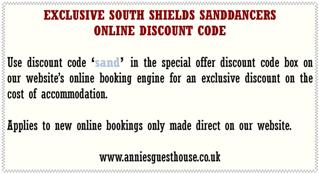 Annie's Guest House South Shields Sanddancers