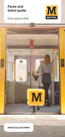 Tyne and Wear Metro Fares and Ticket Guide