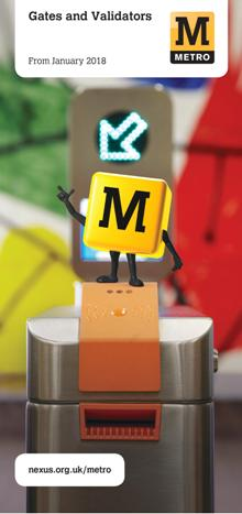 Tyne and Wear Metro Gates and Validators