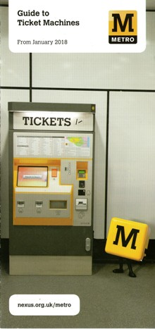 Tyne and Wear Metro Guide To Ticket Machines