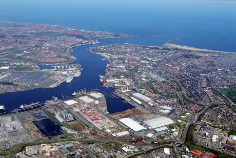 Tyne Dock Port of Tyne Aerial Photograph