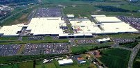 Nissan Car Factory In Sunderland